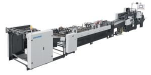 Square Bottom Full Automatic Paper Bag Making Machine pictures & photos