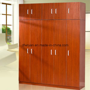 Teak/Maple/Pear Color Combination Wardrobe pictures & photos