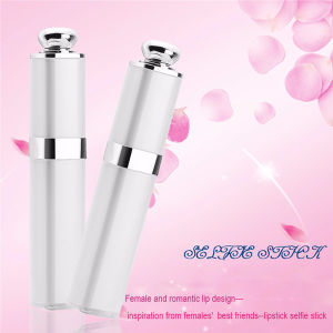 Super Mini Wired Selfie Stick Lipstick Design pictures & photos