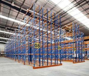 Doulbe Deep Pallet Racking with Excellent Services pictures & photos