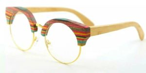 Fashion Design Most Popular Wooden Bamboo Sunglasses pictures & photos