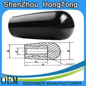 Plastic Oval Handle Sleeve Black Color pictures & photos