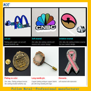 Metal Badge Soft Enamel Badge Tin Badge Offset Badge pictures & photos