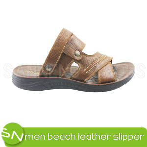 Men′s Sandal with Leather Casual Leather Men Sandal (SNS-05002) pictures & photos