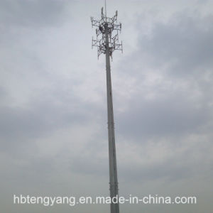 High Quality Surface Galvainzed Telecom Steel Tower pictures & photos