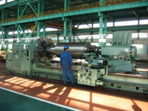 Popular High Quality Horizontal Conventional Lathe for Machining Large Cylinders (CW61200)
