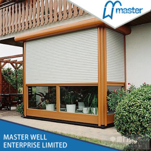 Aluminium Roller Shutter Window with Electric Control/Roller Shutter Window pictures & photos
