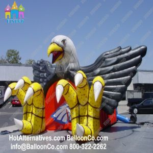 Customized Events Advertising Inflatable Eagle Tunnel pictures & photos