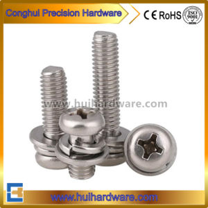 Pan Head Sems Screws Hex Washer Head Sems Screws pictures & photos
