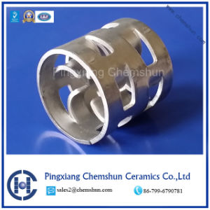 Aluminum Alloy Pall Ring for Mass Transfer Extraction pictures & photos