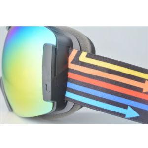Anti Shock Sports Prescription Double PC Lens Ski Mask Sporting Goggles pictures & photos