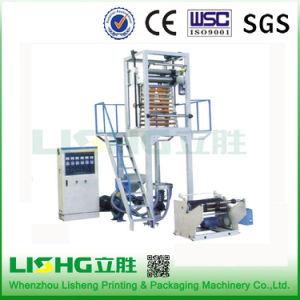 Plastic Film Extrusion Two Layer PE Film Blowing Machine pictures & photos