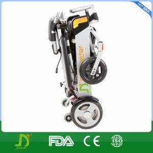 Lightweight Aluminum Foldable Electric Standard Size Wheelchair Jbh D05 pictures & photos