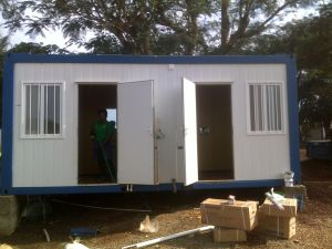 Container House for Modular Prefabricated Hotel Rooms pictures & photos