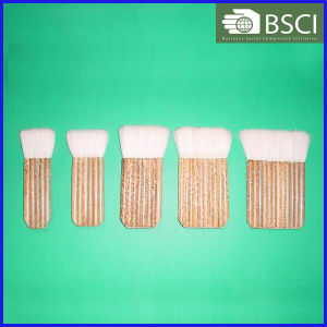 PT-5 High Quality Goat Hair Paint Brush with Bamboo Handle pictures & photos