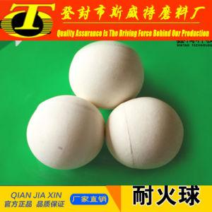 High Strength High Alumina Refractory Ceramic Ball pictures & photos
