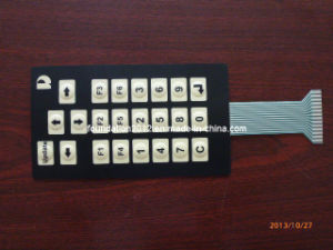 Circuit Print Flexible Circuit Overlay Metal Dome Membrane Switch pictures & photos