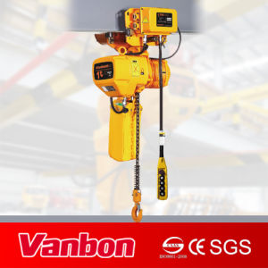 1t Electric Chain Hoist with Electric Trolley (WBH-01001SE) pictures & photos