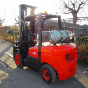 3.5 Ton Gasoline LPG Forklift Truck Cpqd35fr Model pictures & photos