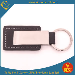 China High Quality Customized Genuine Leather Key Ring in Low Price for Gift pictures & photos