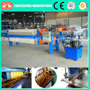 Hydraulic Plate and Frame Virgin Coconut Oil Filter Press Machine pictures & photos