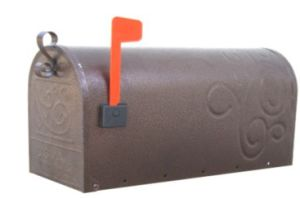 Single Decorative Country Club Cast Iron Mailboxes (JHC-4025)