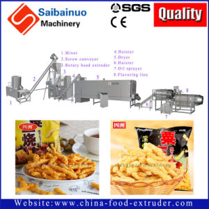 Automatic Cheetos Nik Naks Kurkure Extruder Production Line Making Machine pictures & photos