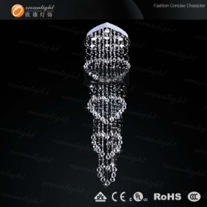 Modern Loving Heart Shape Crystal Hanging Lamp (OM9108) pictures & photos