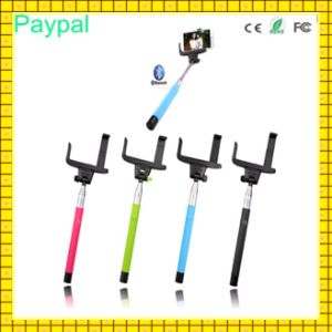 Cheap Colorful Wireless Monopod Bluetooth Selfie Stick with Remote (gc-s007) pictures & photos