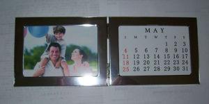 Aluminum Photo Album with Calendar