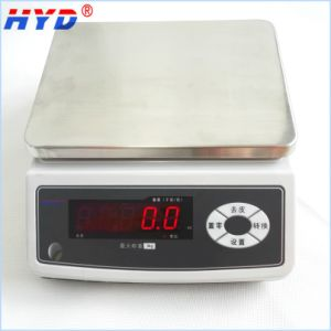 Haiyida Rechargeable Waterproof Weighing Scale pictures & photos