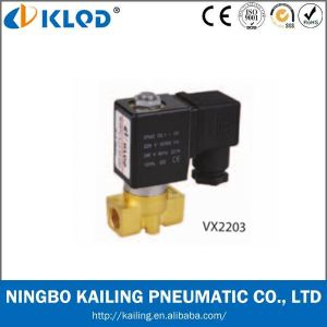 Normally Closed Brass Solenoid Valve DC24V (VX2120-08) pictures & photos