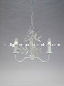Classical Household Pendant Light Fixture Poly Chandelier with UL Certificate
