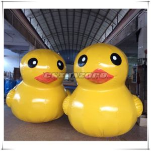 Top Quality PVC Airtight Inflatable Big Yellow Duck Replica
