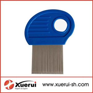 Plastic Handle Hair Nit Lice Comb pictures & photos