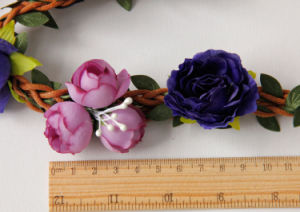 Latest Design Flower Garland Headband for Hair pictures & photos