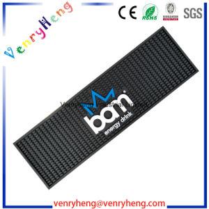Custom Brand Promotional Soft PVC Bar Mat Rubber Bar Mat pictures & photos