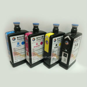 Original One Made in Japan Galaxy UV Ink for Dx5 Head C, M, Y, K W F Included Flush 1L/Bottle Dx5 UV Ink of Galaxy pictures & photos