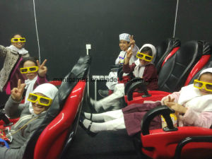 Luxury 6 / 9 / 12 Seats 7D Movie Theater Virtual Reality Machine Customized Color pictures & photos