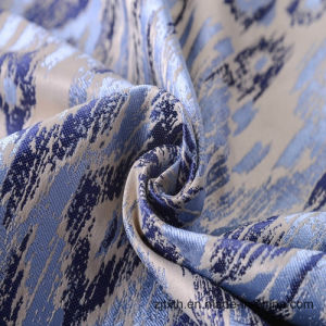 2017 New Yarn Dye Polyester Jacquard Fabric for Sofa and Curtain pictures & photos
