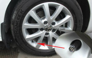Car Zinc Alloy Custom Dust Stem Air Tire Valve Caps with Wrench Keychain pictures & photos