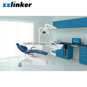 Lk-A12 Dental Equipment Chair with Movable Ceramic Spittoon pictures & photos