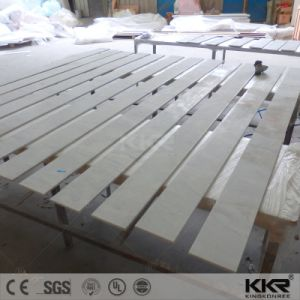 Pure White Artificial Granite Stone Kitchen Countertop pictures & photos