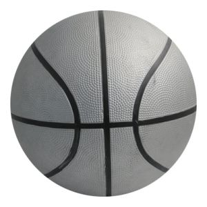 Silver Rubber Basketball High Quality pictures & photos