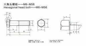 Hexagonal Head Bolt-- M6-M56 pictures & photos