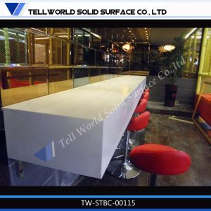 Modern Curved Lighted Night Club Bar Counter/Commercial Bar Countertops pictures & photos