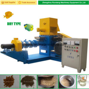 Wet Type China Floating Fish Animal Feed Pellet Extruder Machine pictures & photos