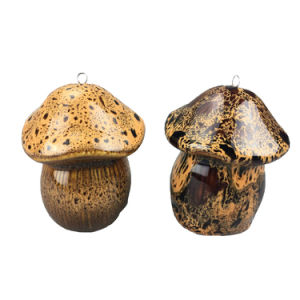 Ceramic Hanging Mushroom for Garden Decoration pictures & photos