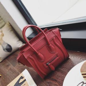 2017 New Casual Fashion Hit Color Smile Package Tide Women Bag Handbag Shoulder Bag Wholesale pictures & photos