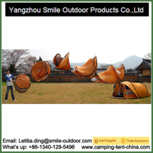 High Quality Outdoor 4 Person Waterproof Pop up Camping Tent pictures & photos